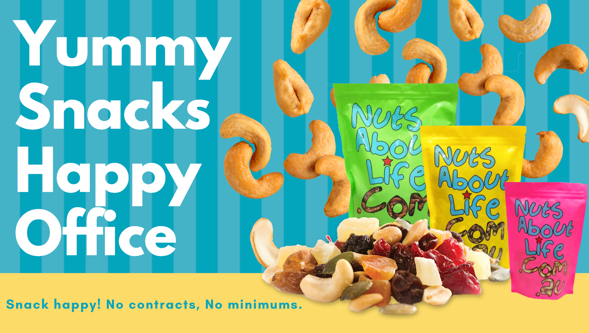 snacks for home and office from Nuts About Life