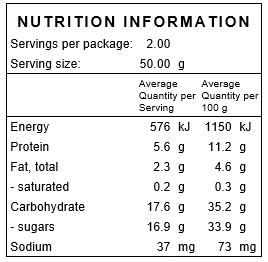 Natural Semi Sun Dried Tomatoes Nutritional Information