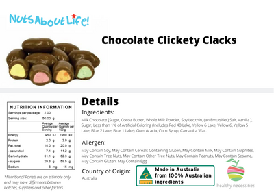 Chocolate Clickety Clacks
