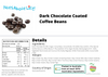 Dark Chocolate Coffee Beans Nutritional Information