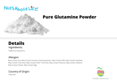 Glutamine - Pure Unflavored