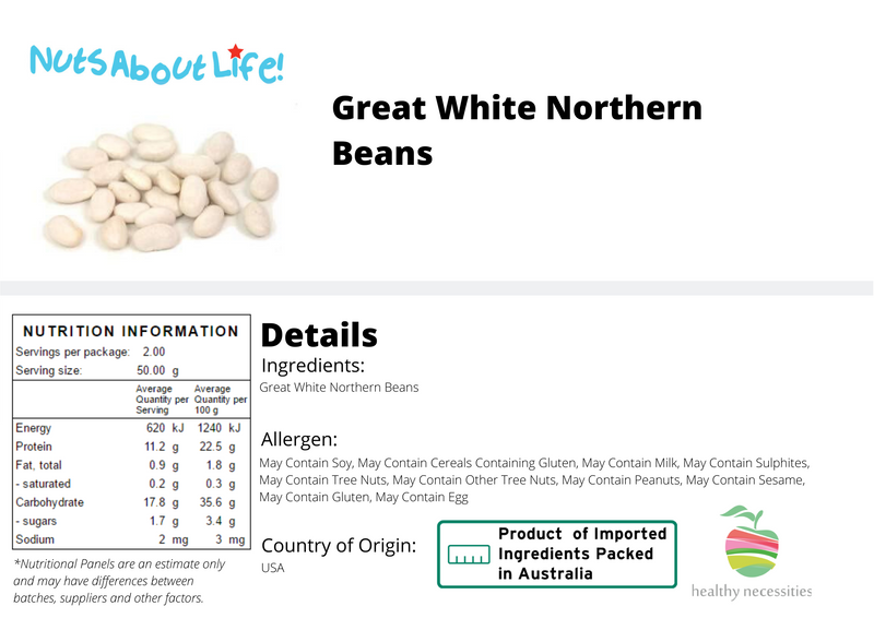 White Great Northern Beans
