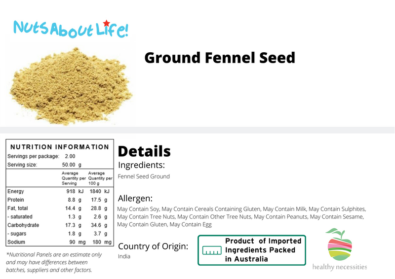 Ground Fennel Seeds