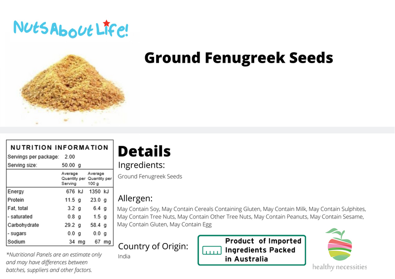 Ground Fenugreek Seeds