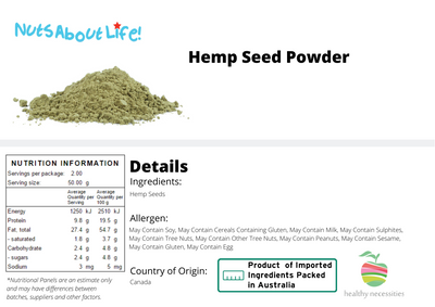 Hemp Seed Powder 100%