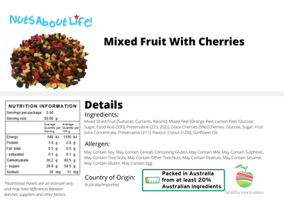 Mixed Fruit with Cherries