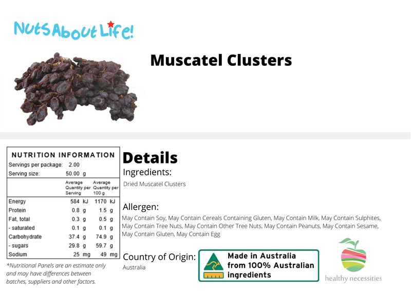 Muscatel Clusters