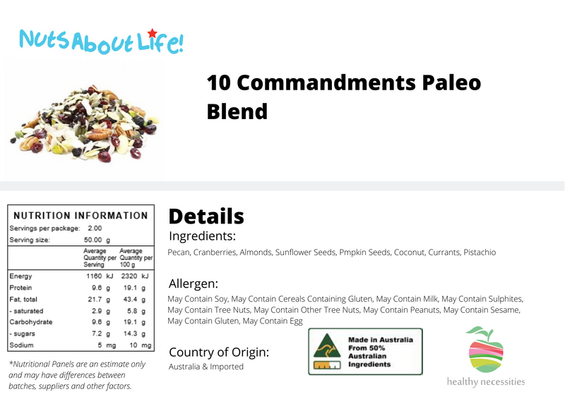 10 Commandments Paleo Blend