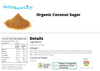 Organic Coconut Sugar Nutritional Information