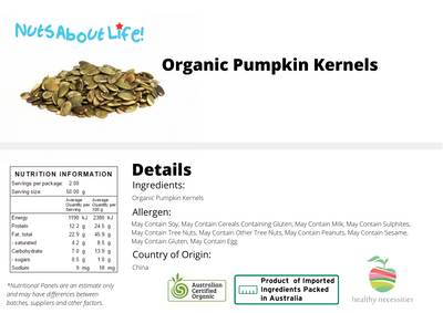 Organic Pumpkin Seeds