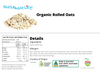 Organic Rolled Oats Nutritional Information