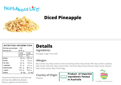 Diced Pineapple