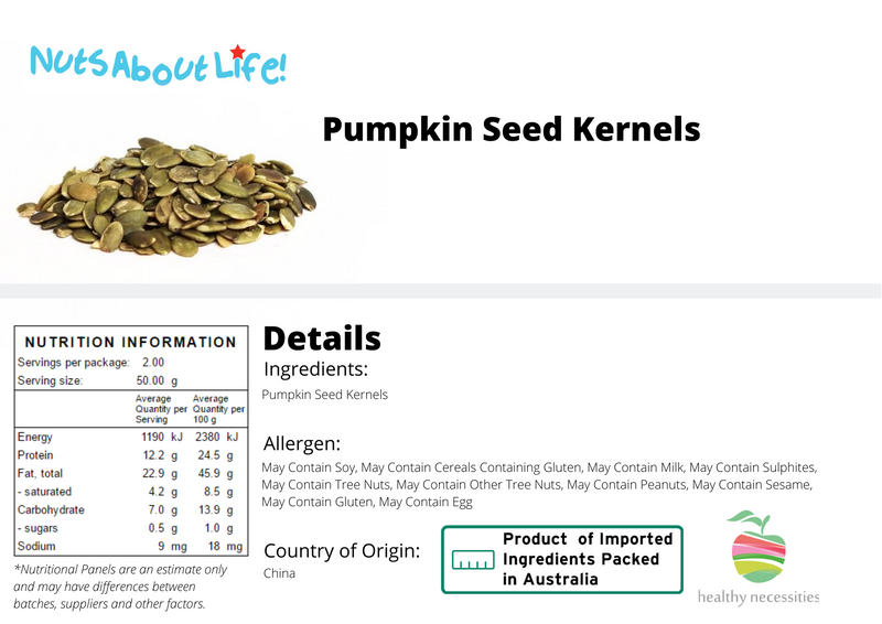Pumpkin Seeds Nutrition