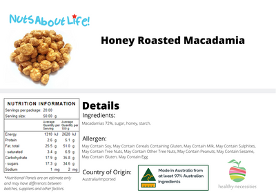 Honey Roasted Macadamia