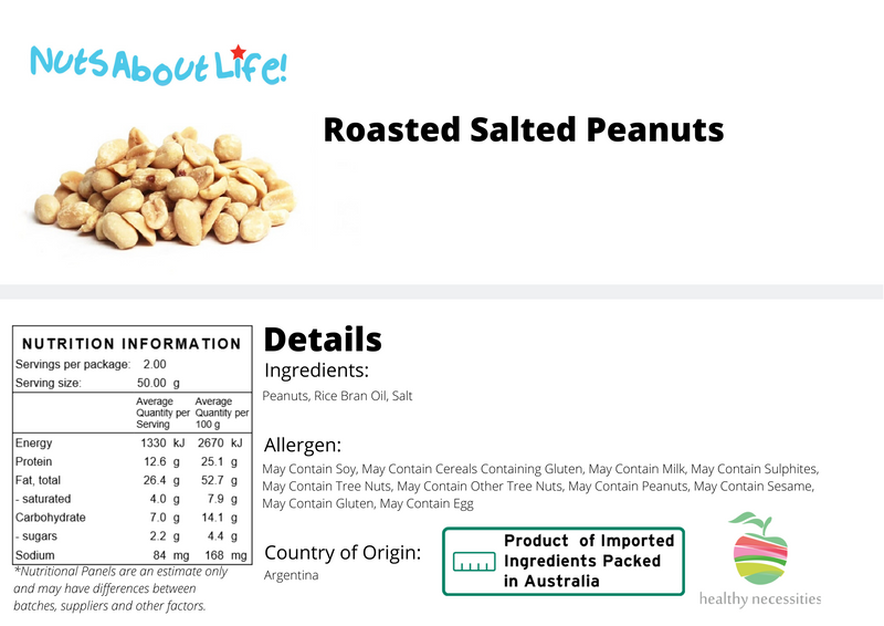 Roasted Peanuts Salted