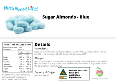 Sugared Almonds (Blue)