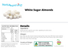 Sugared Almonds (White)