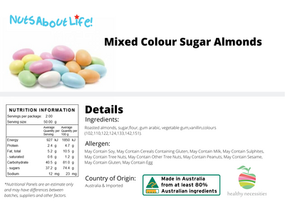 Sugared Almonds (Mixed Colours)
