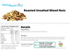 Roasted Mixed Nuts Unsalted