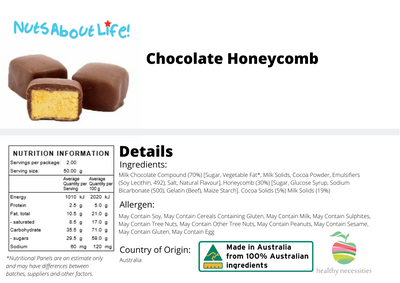 Chocolate Honeycomb Bites