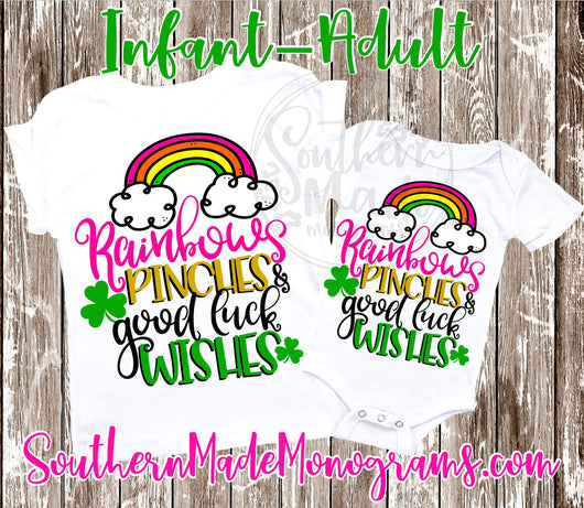 Rainbows Pinches & Good Luck Wishes