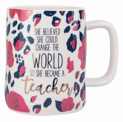 Become A Teacher Mug