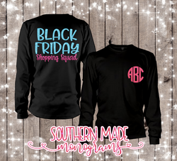 Black Friday Shopping Squad -  Black Friday Shirt - Short or Long Sleeve