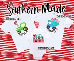 Kids Valentines Day Shirts  - Choose Colors & Design
