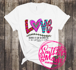 LOVE Beloved If God So Loved Us  - Choose Shirt Color & Style