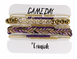 Erimish Gameday Bracelet Stacks