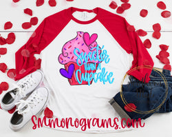 Sweeter Than A Cupcake  - Choose Shirt Color & Style