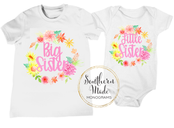 Big Sister - Little Sister Shirt Set