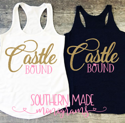 Castle Bound Tank Top - Womens Fit or Unisex Fit