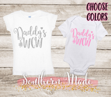 Daddys #WCW - Daddy's Woman Crush Wednesday - Toddler Tee or Oneise - Short or Long Sleeve