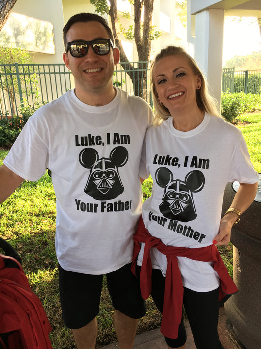 b6d1d79f7 Luke I Am Your Father Shirt // Dad I Know // Luke I Am Your Mother ...