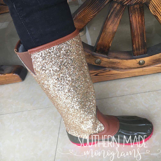 3752d7f26422 ... IN STOCK - Glitter Duck Boots - Adult