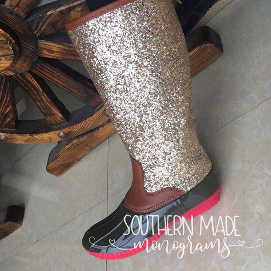 034a013e8112 IN STOCK - Glitter Duck Boots - Adult