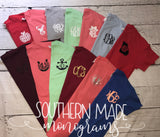Pocket Area Monogrammed Shirt