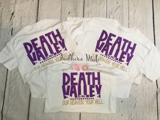 Death Valley Inspired - Our Heaven Your Hell - Short or Long Sleeve