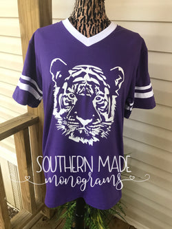 Tiger Head Tshirt Jersey
