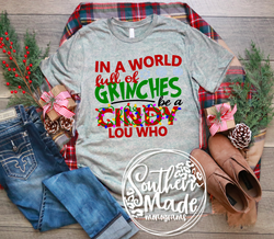 In A World Full Of Grinches-- Be a Cindy Lou Who