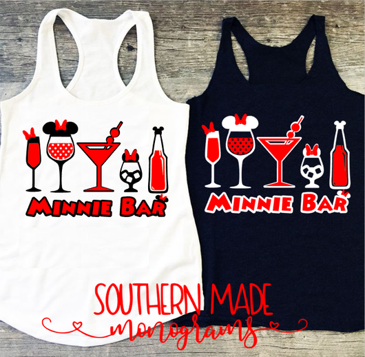 Minnie Bar - Tank or Tshirt