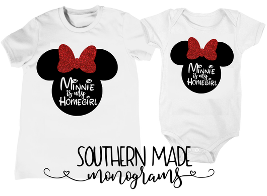 Minnie Is My Homegirl Minnie Head - Toddler or Infant
