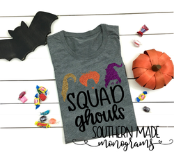 Squad Ghouls - Hocus Pocus - Short or Long Sleeve - Choose all colors