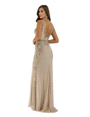 Lara 29535 - Open back embellished long dress