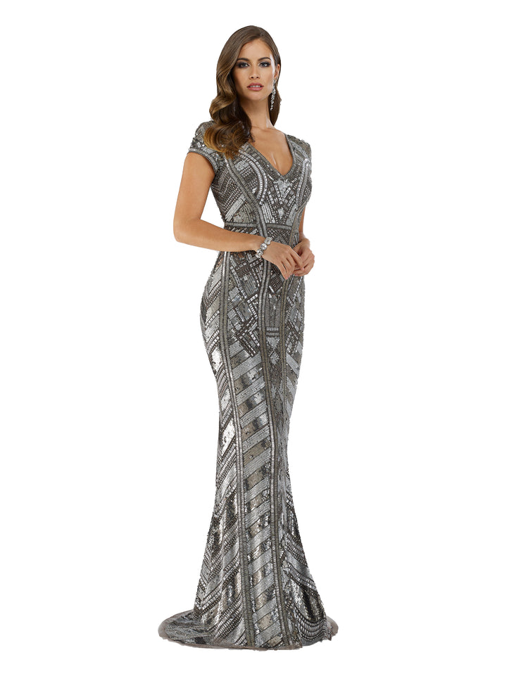 Lara 29540 - Body fitted embellished long dress
