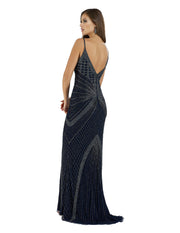 Lara 29595 - V neck strappy long dress