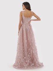 Lara 29786 - Overskirt Lace Ball Gown