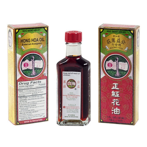 Hong Hoa Oil External Analgesic 紅花油