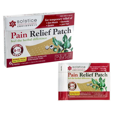 Pain Relief Patch (S)